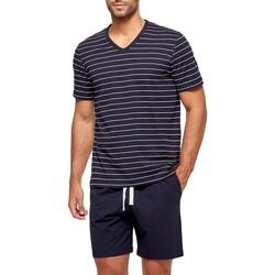 Kleidung Herren Pyjamas/ Nachthemden Impetus GO63024 039 Blau