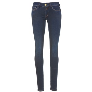 Kleidung Damen Slim Fit Jeans Replay LUZ Blau