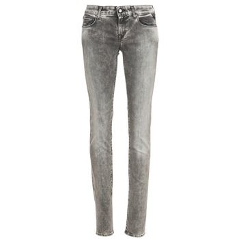 Kleidung Damen Slim Fit Jeans Replay ROSE Grau
