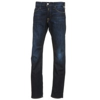 Kleidung Herren Straight Leg Jeans Replay WAITON Blau