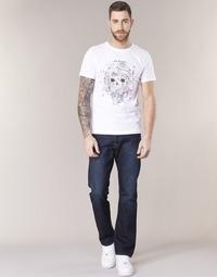 Kleidung Herren Straight Leg Jeans Replay WAITON Blau