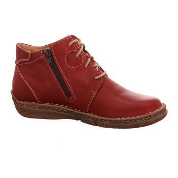Schuhe Damen Boots Josef Seibel Stiefeletten NEELE 46 rot