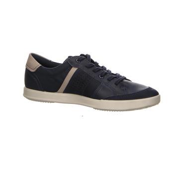 Schuhe Herren Sneaker Low Ecco Schnuerschuhe  COLLIN 2.0 536234-50881-collin-2.0 blau