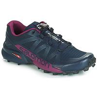 Schuhe Damen Laufschuhe Salomon SPEEDCROSS PRO 2 Schwarz / Violett