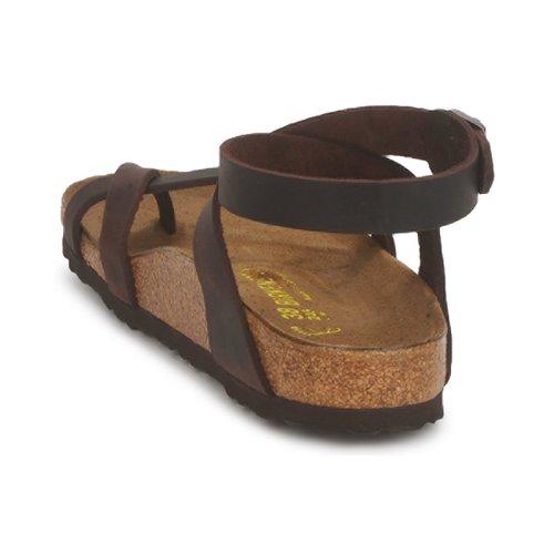 Birkenstock YARA PREMIUM Braun  Schuhe Sandalen / Sandaletten Damen 94,99