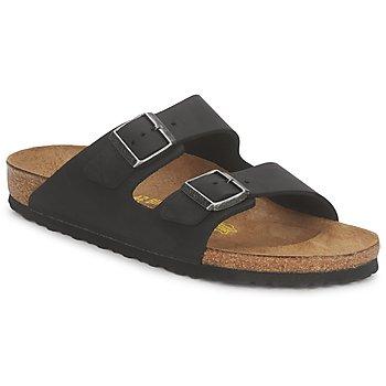 Schuhe Herren Pantoffel Birkenstock ARIZONA PREMIUM Schwarz