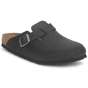 Schuhe Pantoletten / Clogs Birkenstock BOSTON PREMIUM Schwarz