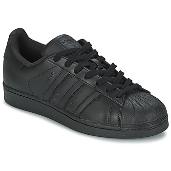Schuhe Herren Sneaker Low adidas Originals SUPERSTAR FOUNDATION Schwarz