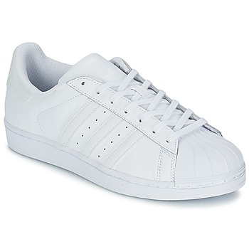 Schuhe Sneaker Low adidas Originals SUPERSTAR FOUNDATION Weiss