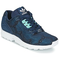 Schuhe Damen Sneaker Low adidas Originals ZX FLUX DECON W Blau
