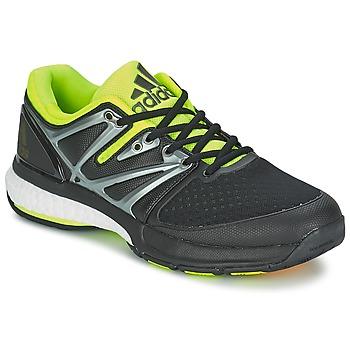 Schuhe Herren Indoorschuhe adidas Performance STABIL BOOST Schwarz / Grün