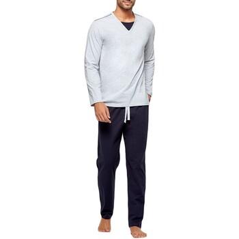 Kleidung Herren Pyjamas/ Nachthemden Impetus GO62024 073 Grau