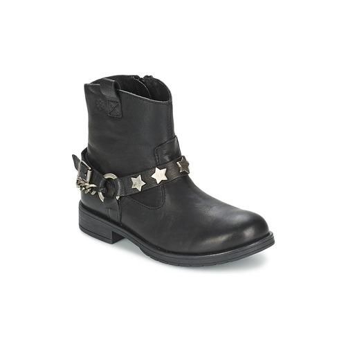 Schuhe Mädchen Boots Acebo's JERIE Schwarz