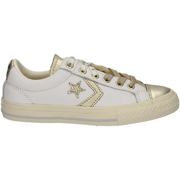 Schuhe Kinder Sneaker Low Converse 662769C Weiss