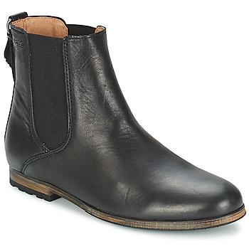 Schuhe Damen Boots Aigle MONTAIGU 2 Schwarz