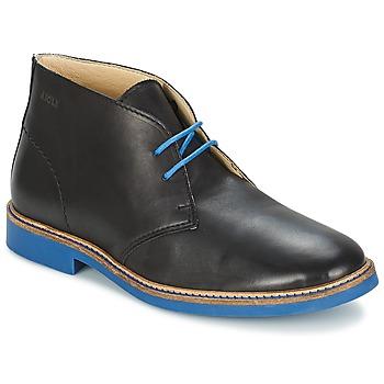 Schuhe Herren Boots Aigle DIXON MID 3 Schwarz