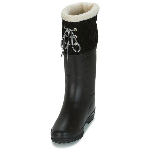 Aigle Schuhe POLKA GIBOULEE Schwarz  Schuhe Aigle Gummistiefel Damen 67,99 e22e9a