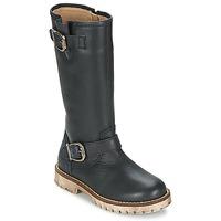 Schuhe Mädchen Klassische Stiefel Garvalin GALERA Schwarz