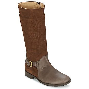 Schuhe Mädchen Klassische Stiefel Garvalin KAISER Y SERRAJE GRABADO Braun