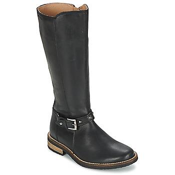 Schuhe Mädchen Klassische Stiefel Garvalin KAISER Schwarz