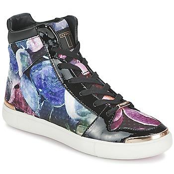 Schuhe Damen Sneaker High Ted Baker MADISN Schwarz / Multifarben
