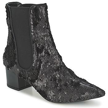 Schuhe Damen Boots RAS ANAHI Schwarz
