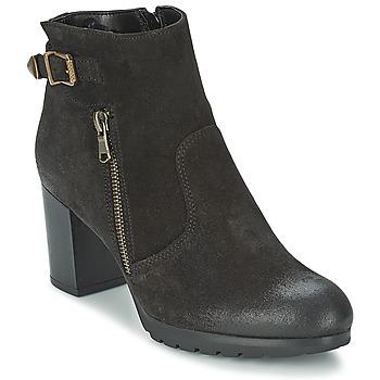 Schuhe Damen Low Boots Samoa FINOLER Schwarz