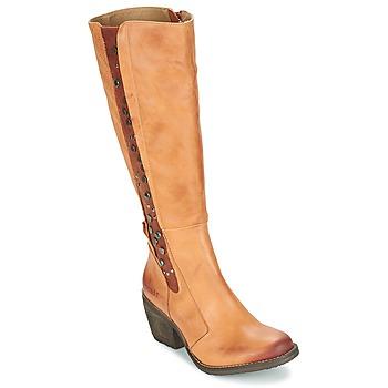 Schuhe Damen Klassische Stiefel Dkode LEANNE Cognac