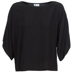 Kleidung Damen Tops / Blusen Alba Moda 202586 Schwarz