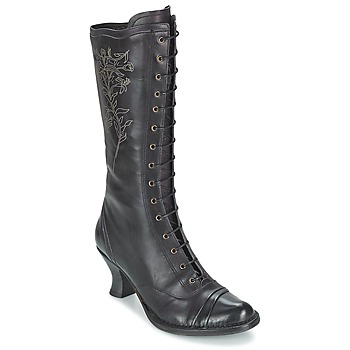 Schuhe Damen Klassische Stiefel Neosens ROCOCO Schwarz