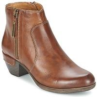 Schuhe Damen Ankle Boots Pikolinos ROTTERDAM MILI 902 Braun