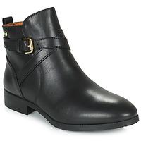 Schuhe Damen Boots Pikolinos ROYAL BO Schwarz