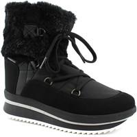 Schuhe Damen Low Boots Antarctica ANT-CCC-5854-NE Nero