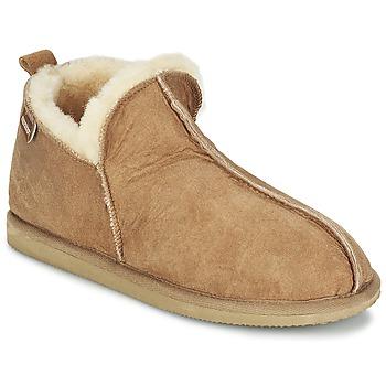 Schuhe Herren Hausschuhe Shepherd ANTON Cognac
