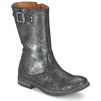 Schuhe Mädchen Klassische Stiefel Shwik WACO BOTTE Schwarz