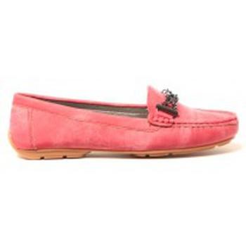Schuhe Damen Ballerinas Cassis Côte d'Azur Mocassins Marceline Rouge Rot