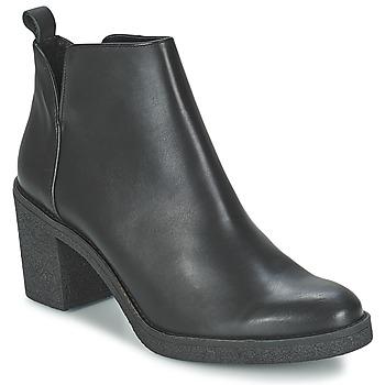 Schuhe Damen Low Boots Miista KENDALL Schwarz