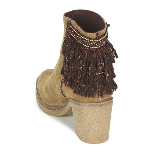 Miista BRIANNA Braun  188 Schuhe Low Boots Damen 188  5f4fc6