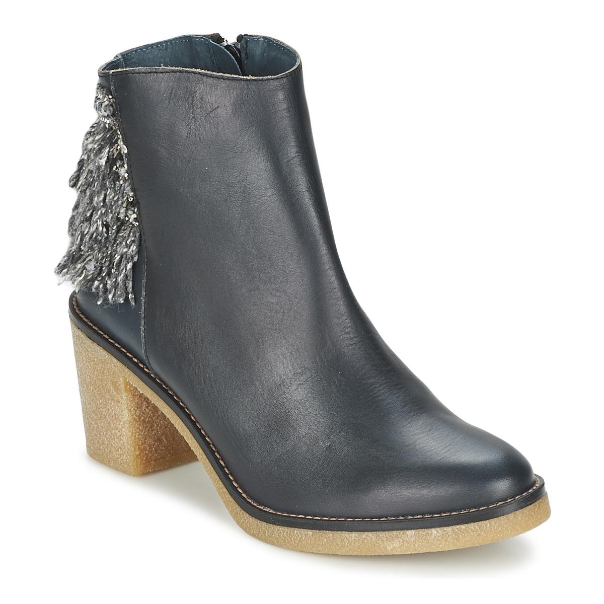 Miista BRIANNA Blau / Marine - Kostenloser Versand bei Spartoode ! - Schuhe Low Boots Damen 117,50 €