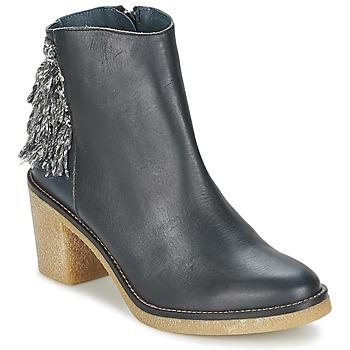 Schuhe Damen Low Boots Miista BRIANNA Blau / Marine