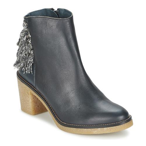 Miista BRIANNA Blau / Marine Schuhe Low Boots Damen 117,50