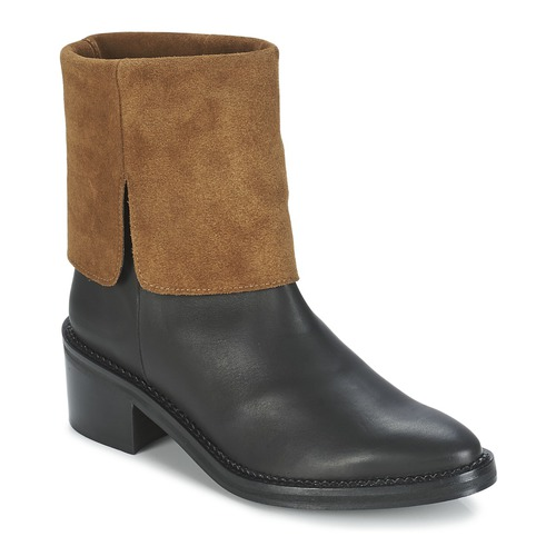 Miista KAMILA Schwarz / Braun Schuhe Boots Damen 127