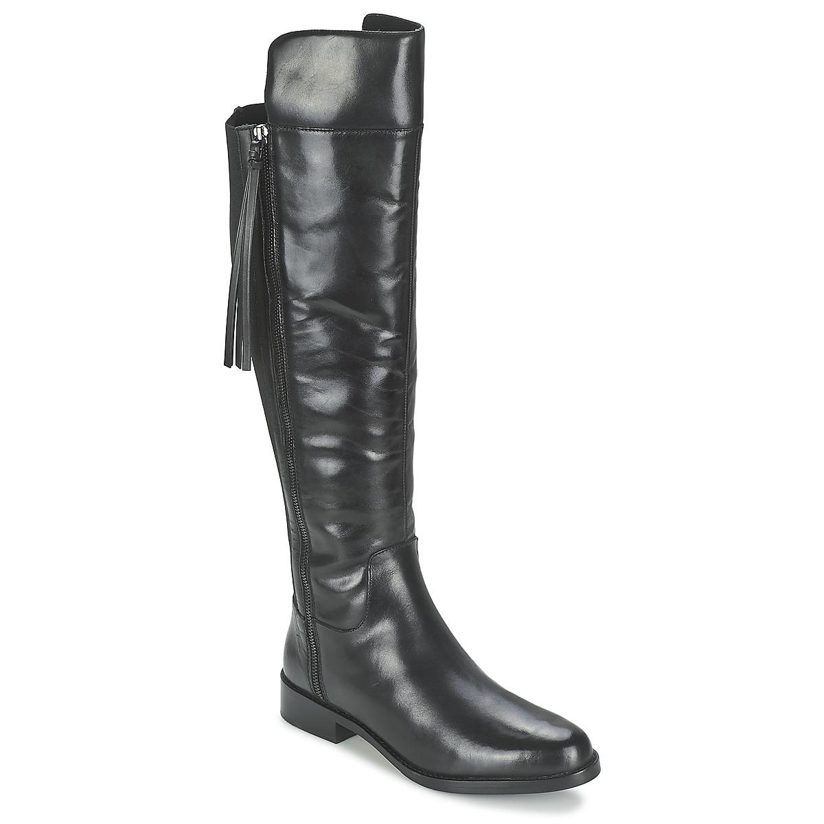 French Connection GREGGIE Schwarz - Kostenloser Versand bei Spartoode ! - Schuhe Klassische Stiefel Damen 114,50 €