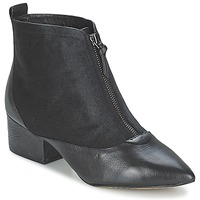 Schuhe Damen Low Boots French Connection ROBREY Schwarz