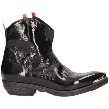 Schuhe Damen Low Boots Zoe N100 Schwarz / Rot