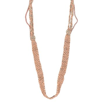 Uhren & Schmuck Damen Collier Ambre Babzoe ADAM Orange