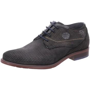 Schuhe Herren Derby-Schuhe Bugatti Schnuerschuhe Schnürhalbschuh Licio 311-16308-1400 1000 schwarz
