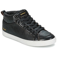 Schuhe Damen Sneaker High Feiyue DELTA MID DRAGON Schwarz