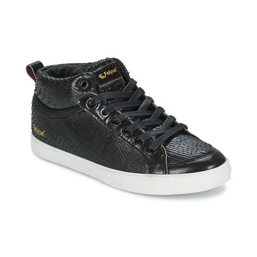 Feiyue DELTA MID DRAGON Schwarz  Schuhe Sneaker High Damen 100