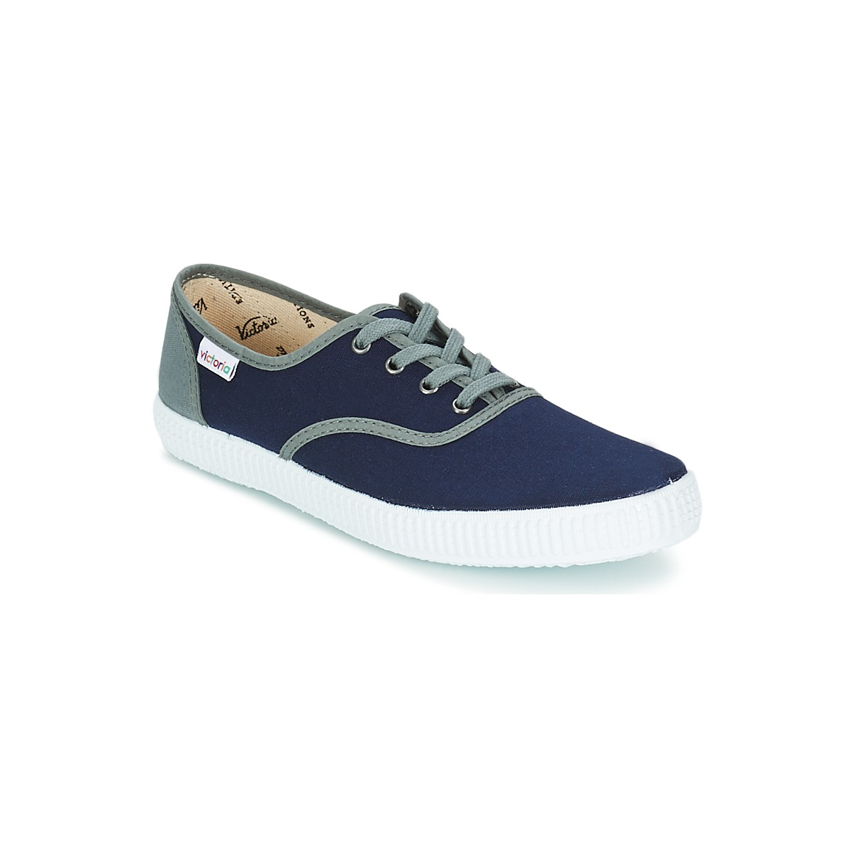 Victoria INGLESA LONA DETALL CONTRAS Marine - Kostenloser Versand bei Spartoode ! - Schuhe Sneaker Low  18,00 €